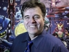 FOR USE WITH STORY by Luis Torres de la Llosa, US-ART-COMICS-FASHION-SUPERHEROES Neal Adams poses in his office at Continuity Studios in New York on April 14, 2008. Adams is creating nine new issues of Batmn for DC Comics. AFP PHOTO/Nicholas ROBERTS (Photo credit should read NICHOLAS ROBERTS/AFP/Getty Images)
