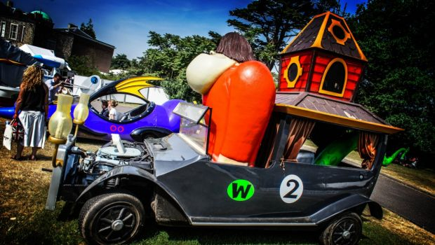 Le auto quot reali ispirate al cartoon di wacky races