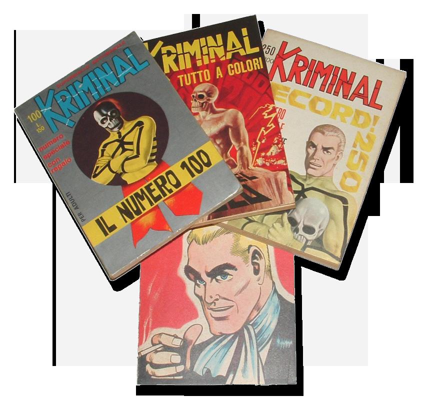 fumetti Kriminal