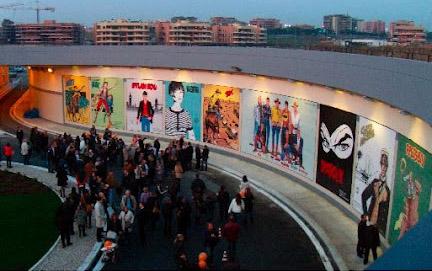 piazza dei fumetti