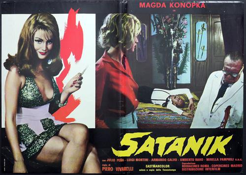 fotobusta Satanik