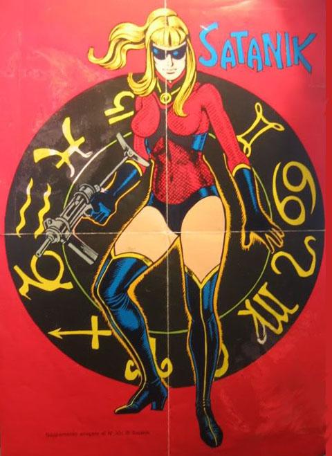 Poster Satanik