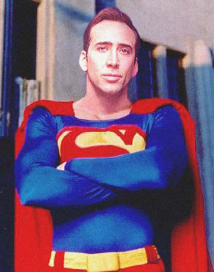 superman nicolas  cage