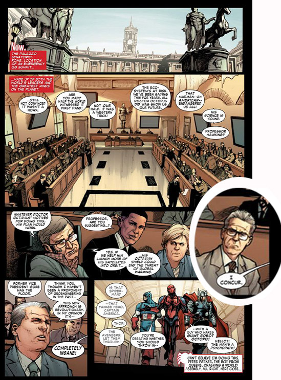 tavola Amazing Spider-Man 683