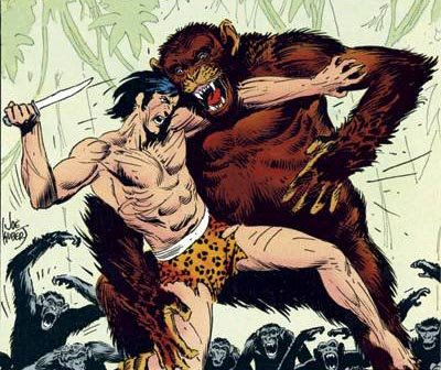 Tarzan Joe Kubert
