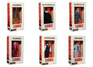 Presentate le Action Figures di Django Unchained