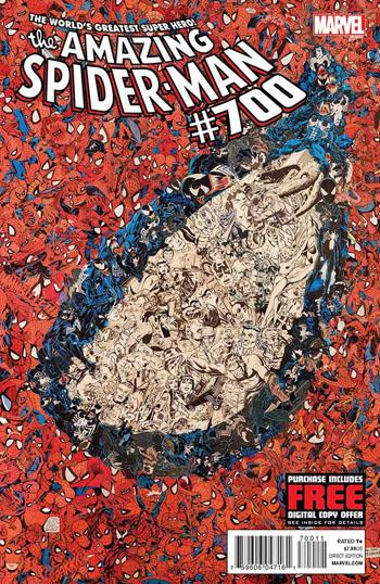 The Amazing Spiderman 700