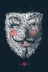 Realizzato un artwork per V for Vendetta