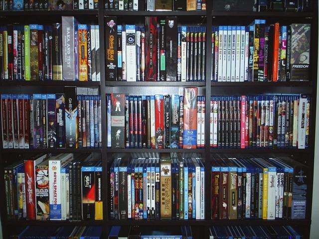 Blu Ray anime
