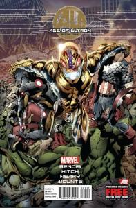 Marvel rilascia l'anteprima del primo numero di Age of Ultron