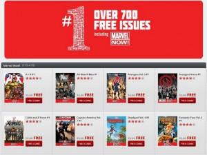 Marvel si unisce a Comixology per la distribuzione gratuita