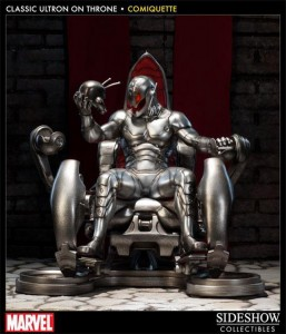 Presentato l'action figures Classic Ultron Throne Comiquette