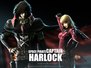 Diffuso econdo teaser di Space Pirate Captain Harlock