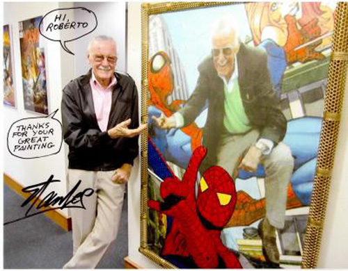 Stan Lee visto da Roberto Carullo