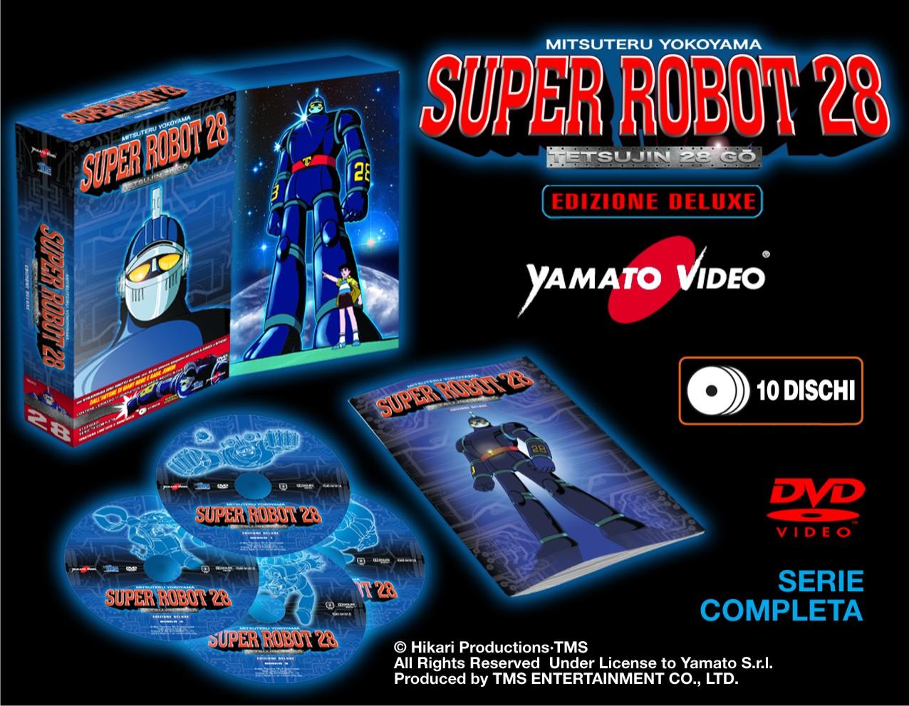 YAMATO VIDEO Super Robot 28