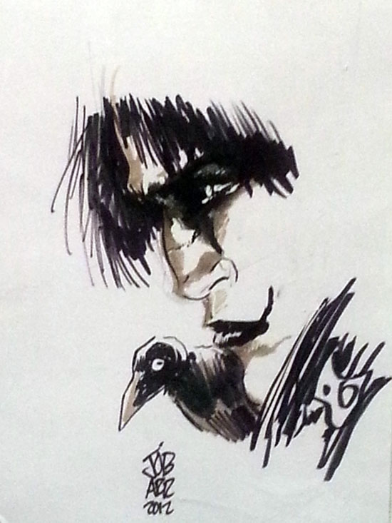 disegno di Jamese O'Barr