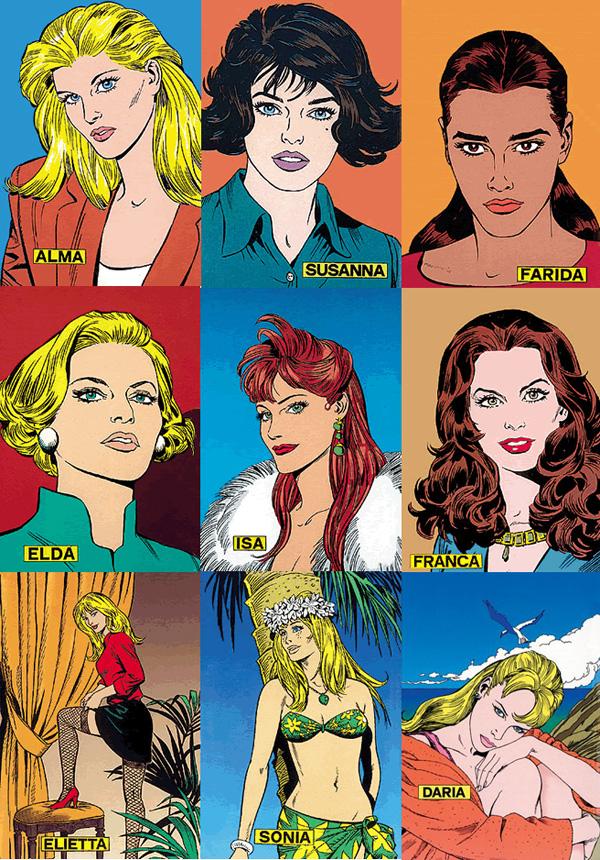 Le donne di Diabolik 1990