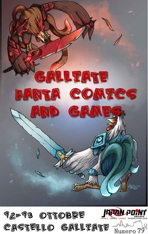 Presentato il Galliate Fanta Comics & Games