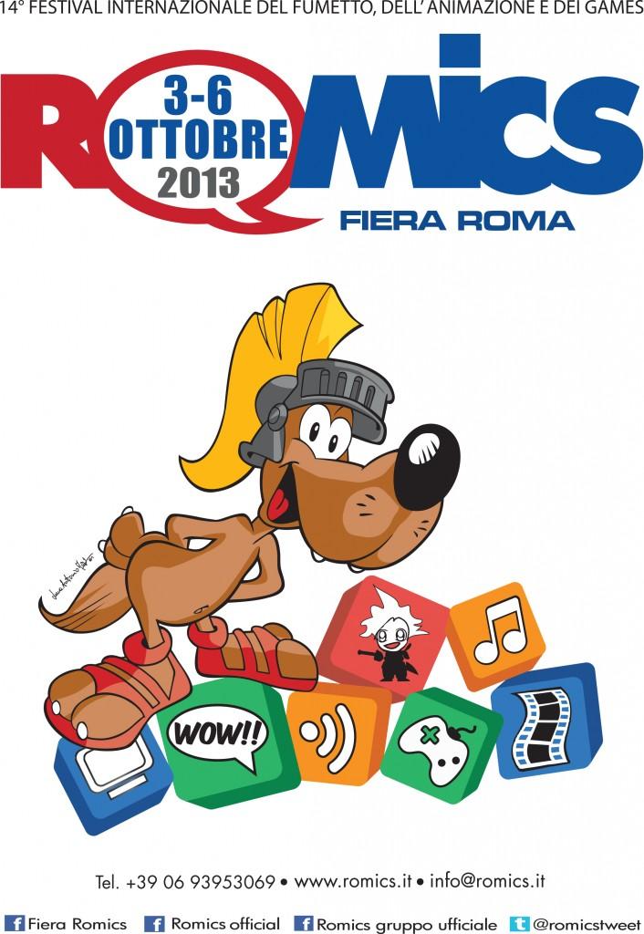 manifesto ufficiale A4 romics autunno 013