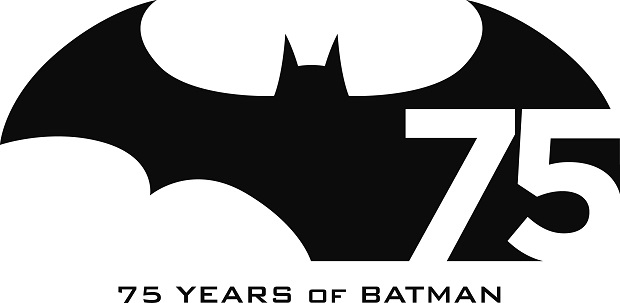 Logo Batman 75° anniversario