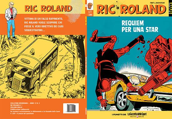 Cover N 1 di Ric Roland