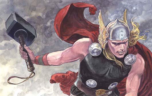 Milo Manara sua la cover dell'ultimo Thor