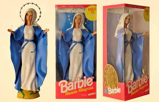 Barbie Nostra Signora della Medaglia Miracolosa