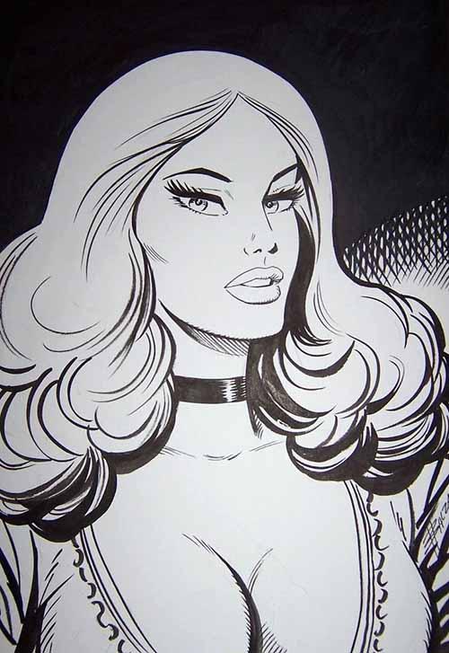 Zora da un disegno di Birago Balzano