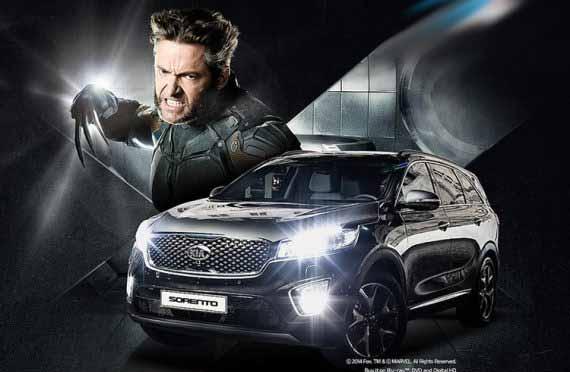 Kia Sorrento Wolverine