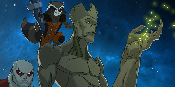 Diffuso un trailer della serie animata dei guardiani della galassia