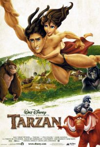 "Poster for the movie ""Tarzan"""