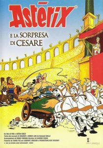 "Poster for the movie ""Asterix & Obelix contro Cesare"""