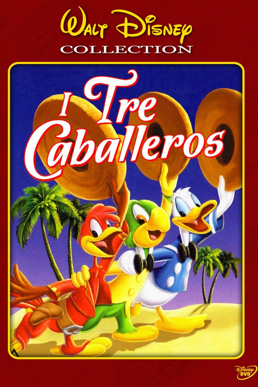 "Poster for the movie ""I Tre Caballeros"""