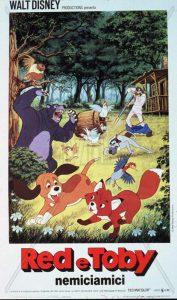 "Poster for the movie ""Red e Toby nemiciamici"""