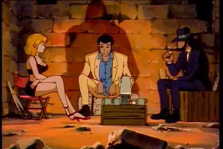 Lupin III: Una cascata di diamanti