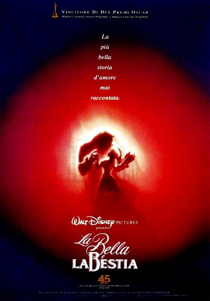 "Poster for the movie ""La bella e la bestia"""