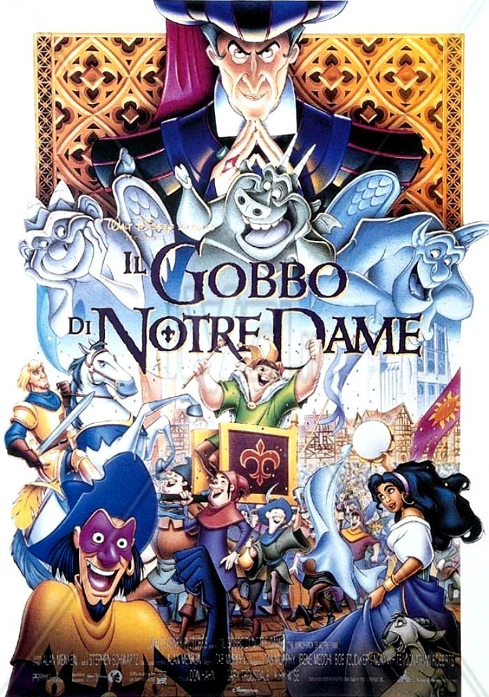 "Poster for the movie ""Il gobbo di Notre Dame"""