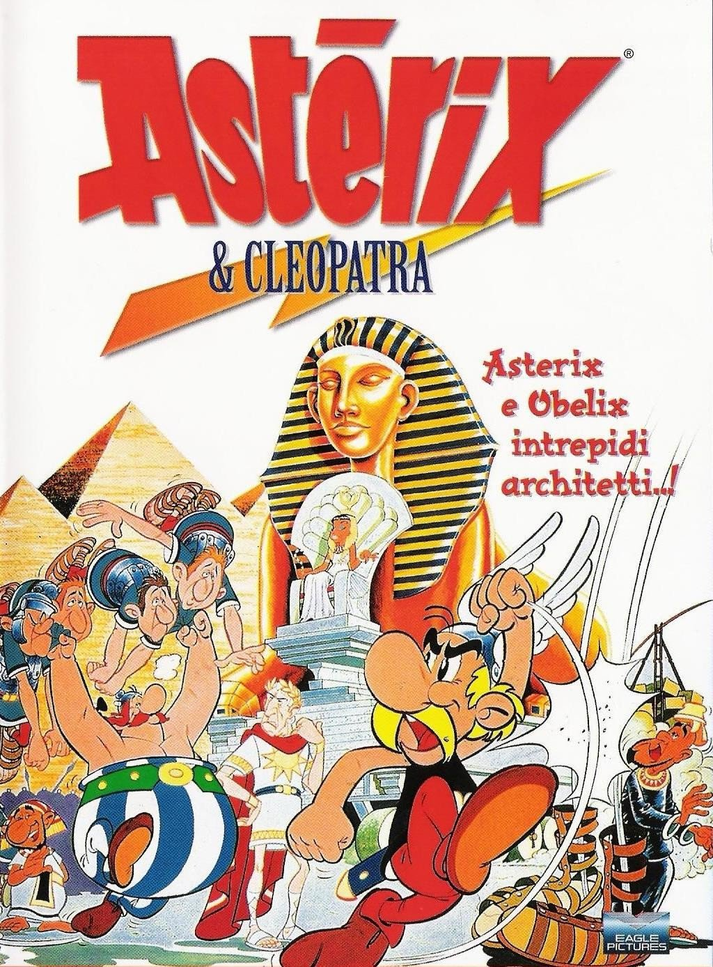"Poster for the movie ""Asterix e Cleopatra"""
