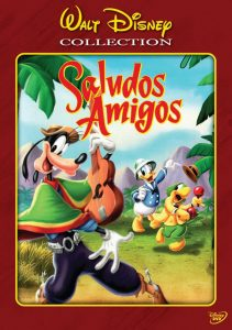 "Poster for the movie ""Saludos Amigos"""
