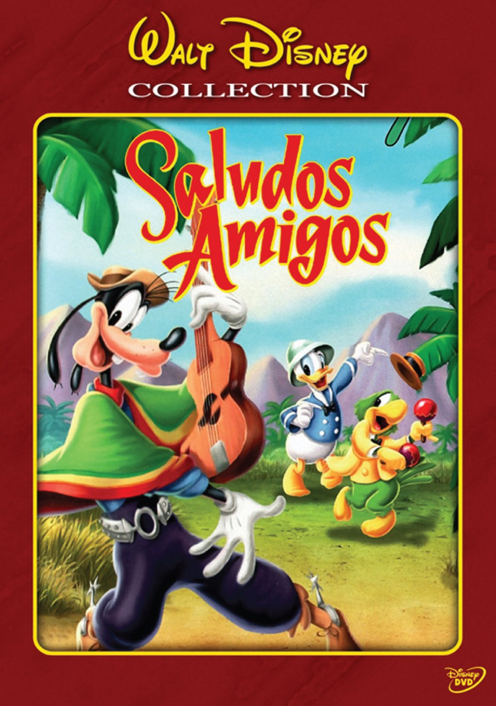 "Poster for the movie ""Saludos Amigos"""