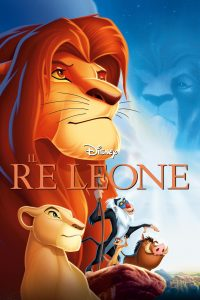 "Poster for the movie ""Il re leone"""