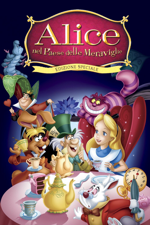 """Poster for the movie """"Alice nel paese delle meraviglie"""""""