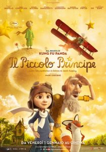 "Poster for the movie ""Il Piccolo Principe"""