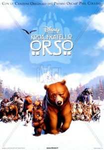 "Poster for the movie ""Koda, fratello orso"""