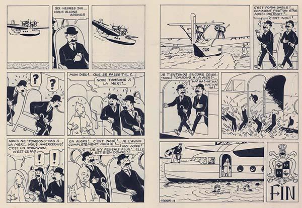 Tintin Lo scettro di Ottokar