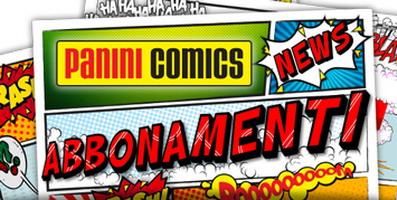 Abbonamenti Panini Comics