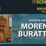 Oggi Moreno Burattini è ospite della Sala Agorà del Borghetto Europa
