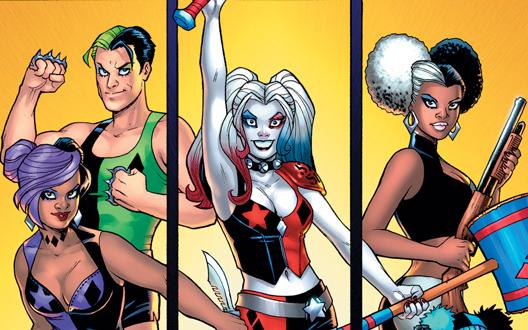Harley Quinn e la Gang Delle Harley