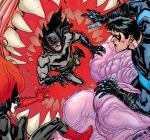 La notte degli Uomini Mostro a Gotham City