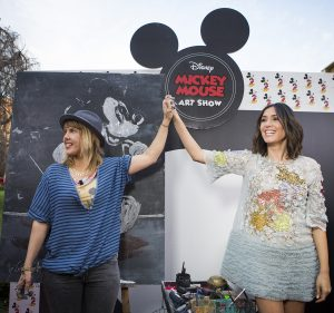Mickey Mouse Art Show